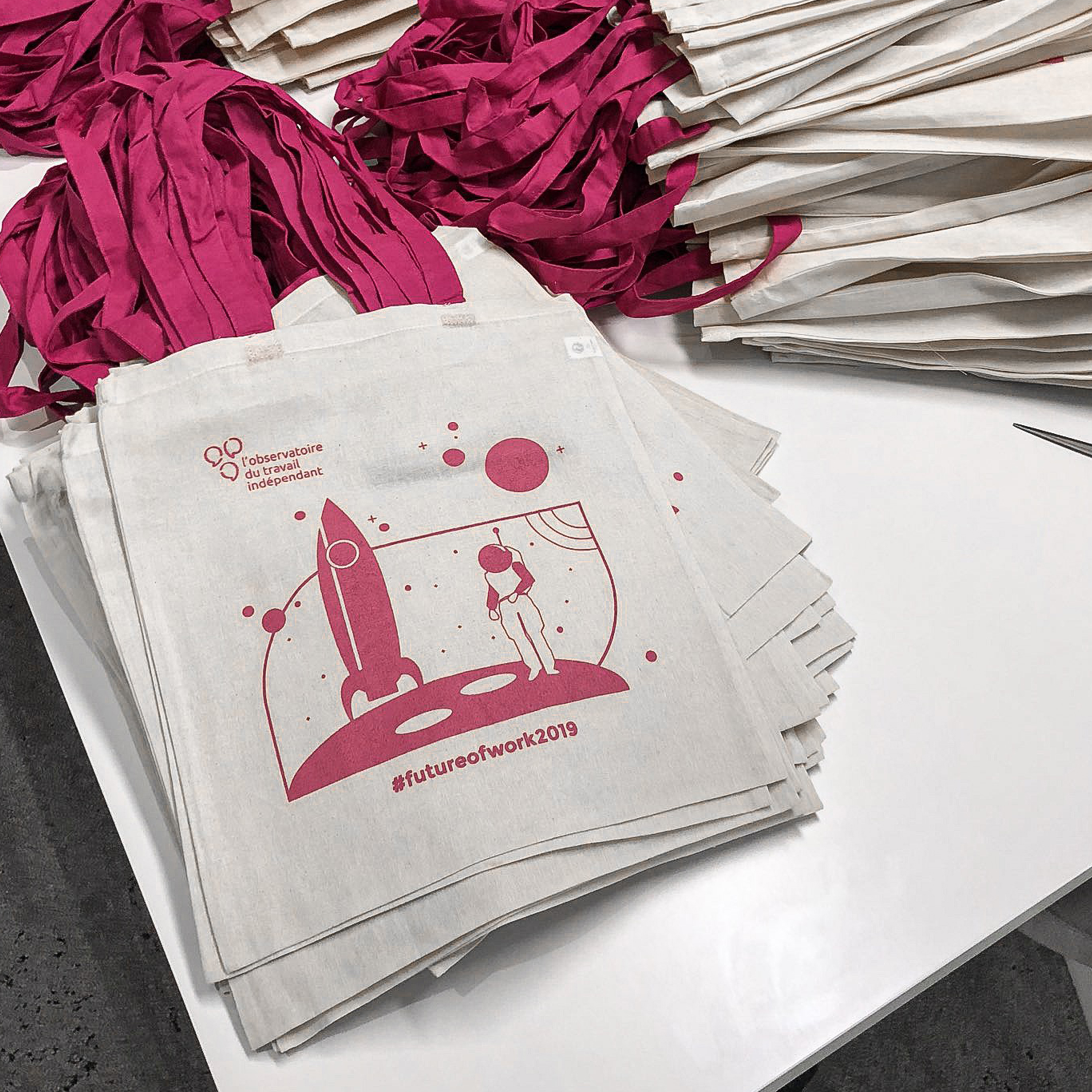 Pres projet – Tote bag – FOW19
